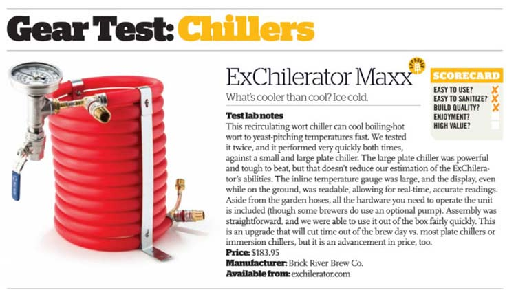 craft beer and brewing magazine review for exchilerator