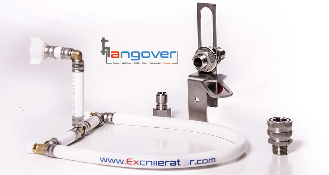 The D sparge arm for the Hangover