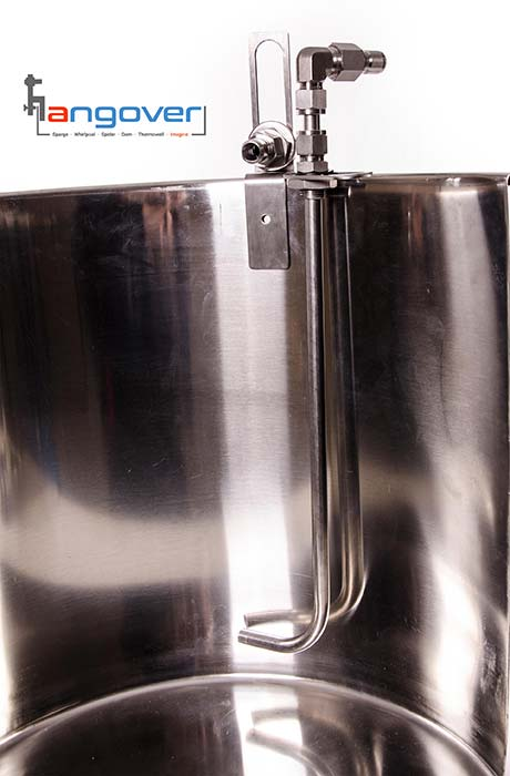 whirlpool arm for brewing beer