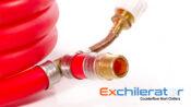 Garden hose port on the Maxx counterflow wort chiller