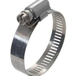 """1/2"""" Stainless Steel Hose Clamp"""
