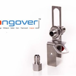 The Hangover portable npt port for brewing beer