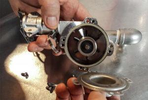 chugger pump taken apart