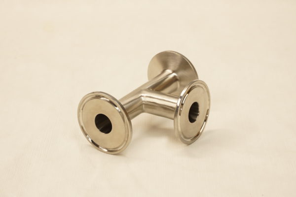 "3/4"" 304 stainless steel 1.5"" tri clover tee fitting"